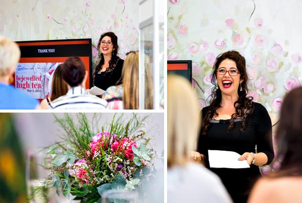 Kim Bartlett Master Jewellers Bejewelled High Tea, Business in Heels Townsville